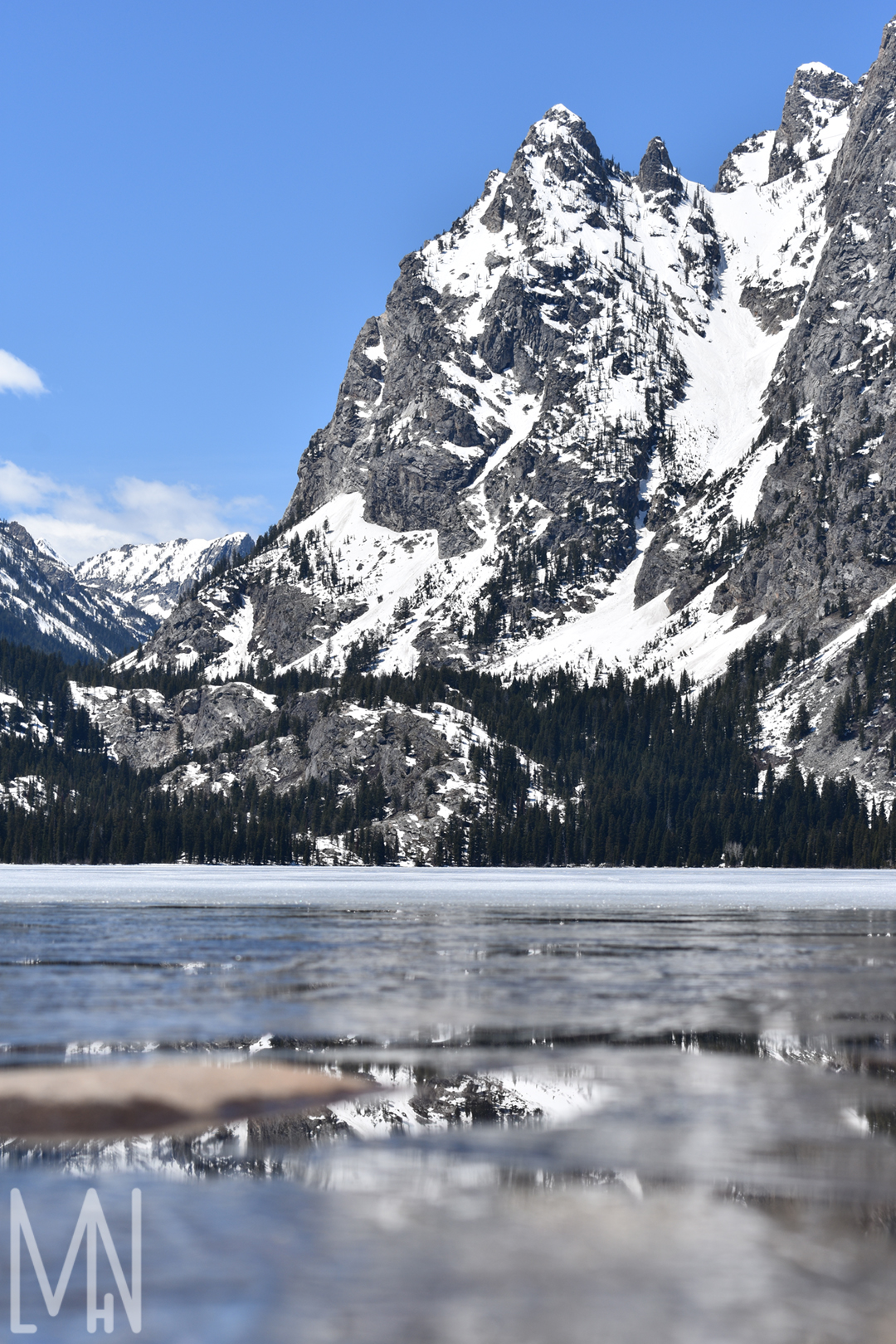 Mountain Reflections In A Fine Art Print Meghan L H Nelson Photography Design